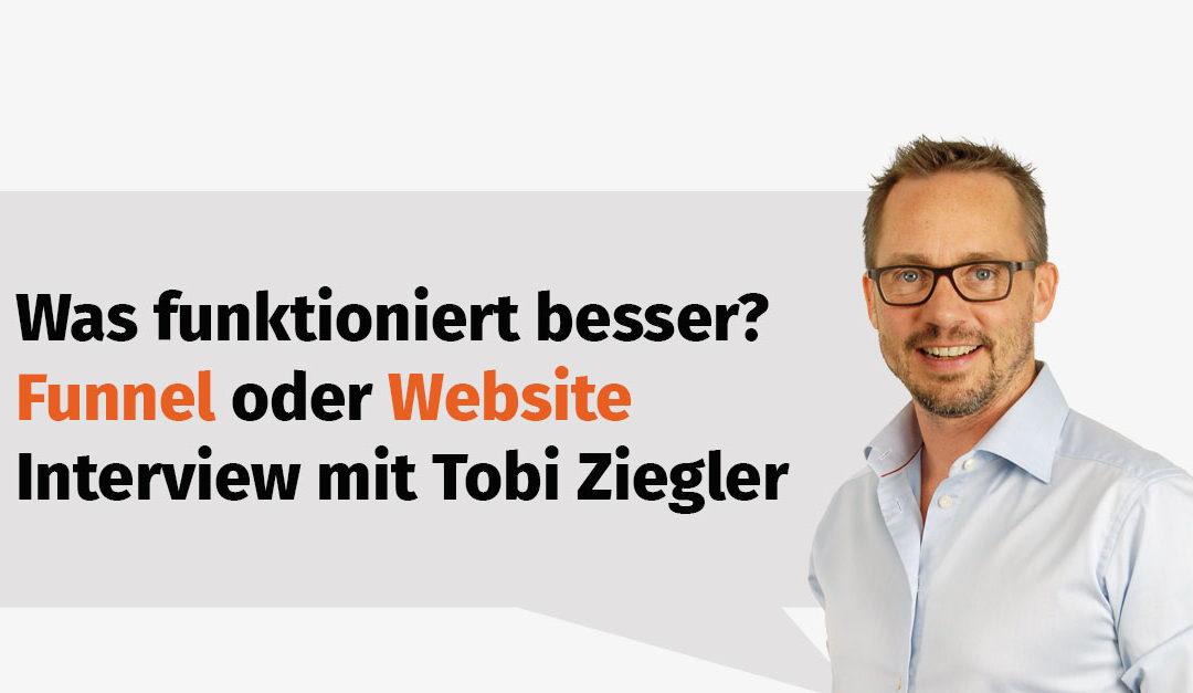 Funnel oder Website im IT-Marketing – Interview mit Tobias Ziegler #S2-04