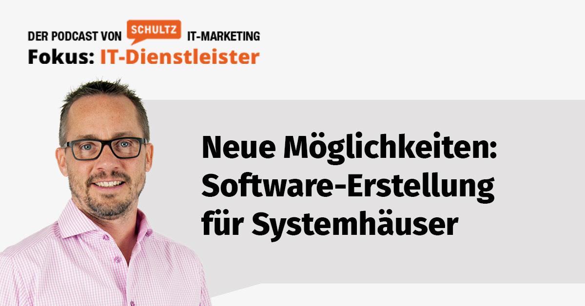 Einfache Softwareerstellung für Systemhäuser - Interview mit Christian Scherzer